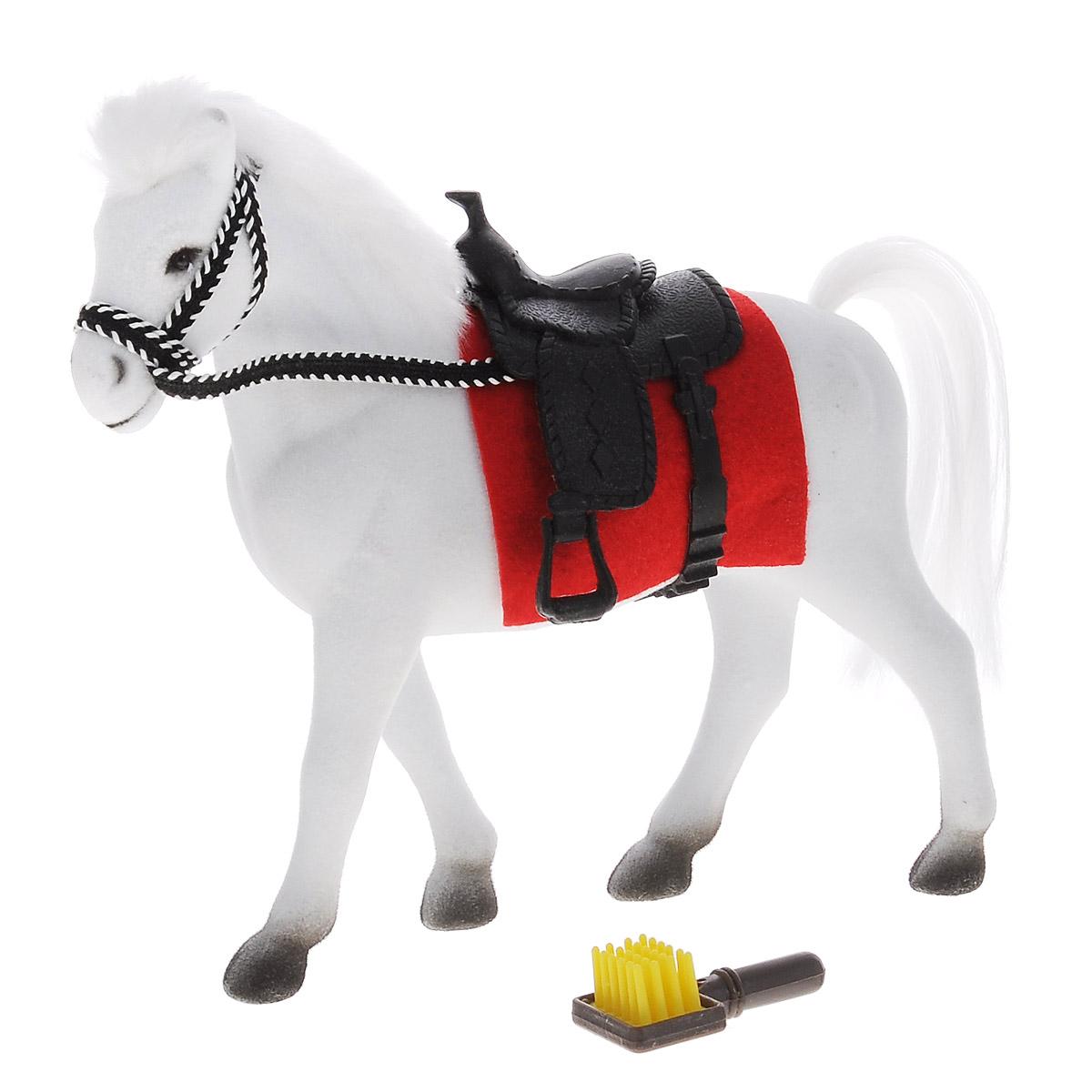 Играем вместе Фигурка Лошадь цвет белый 16 см игровые фигурки играем вместе лошадь 14см