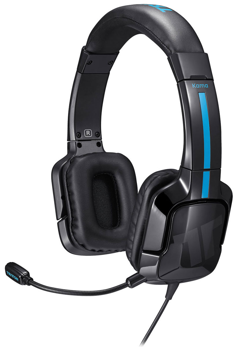 Tritton Kama Stereo Headset, Black игровая гарнитура PS4/PS Vita (TRI906390002/02/1) гарнитура devia smart bluetooth 4 1 headset white
