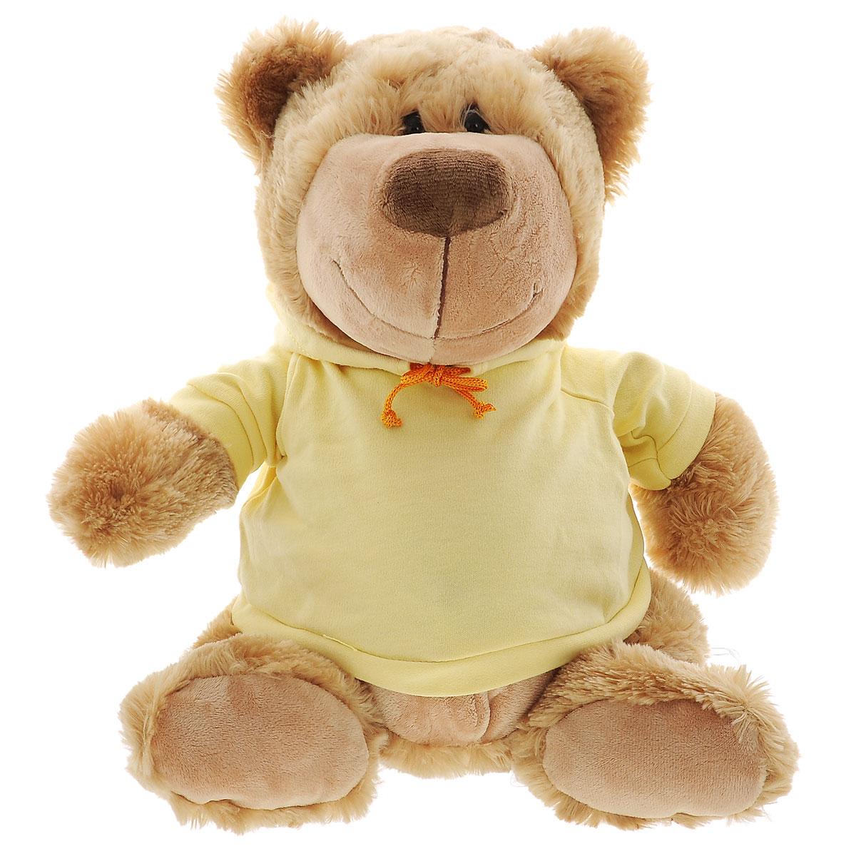 Мягкая игрушка Plush Apple Клевый медведь в кофте, 37 см мягкая игрушка plush apple собака с шарфом 28 см