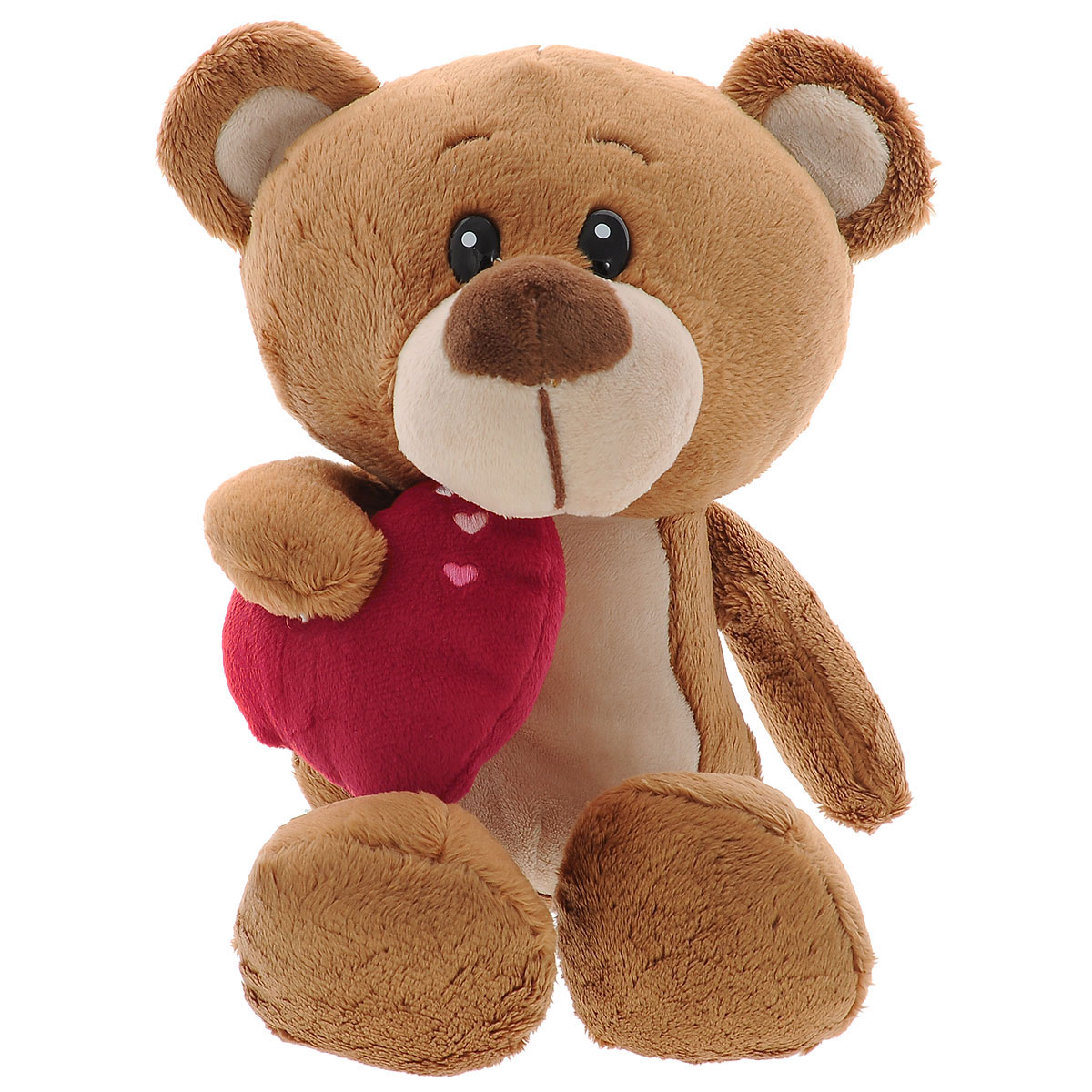 Мягкая игрушка Plush Apple Медведь Мишуткин с сердцем, 30 см мягкая игрушка plush apple собака с шарфом 28 см