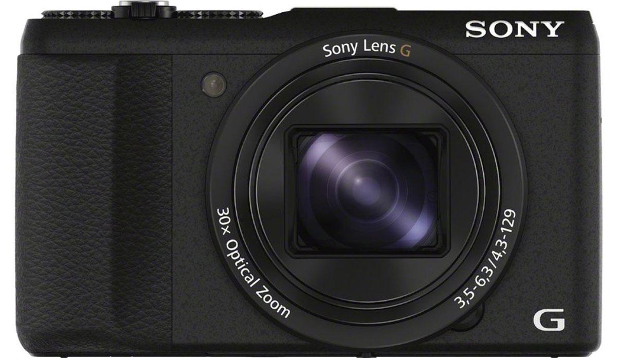 Sony Cyber-shot DSC-HX60, Black цифровая фотокамераDSCHX60B.RU3Приближайте объекты и снимайте их с высокой четкостью с помощью компактной цифровой камеры Sony Cyber-shot DSC-HX60. Полный комплект мощных технологий, включая 30-кратный оптический зум, матрицу Exmor R CMOS с разрешением 20,4 МП и стабилизатор изображения, позволяет получать четкие снимки с высокой детализацией независимо от положения объекта. Широкие светочувствительные элементы 20,4-мегапиксельной матрицы Exmor R CMOS с задней подсветкой получают больше света, обеспечивая высокую четкость каждого кадра.Получайте фотографии высокого качества благодаря процессору BIONZ X, который в 3 раза мощнее предыдущего процессора BIONZ. Он обеспечивает более точную цветопередачу, лучшее шумоподавление и более скоростную серийную съемку. Объективы G оснащены передовыми оптическими технологиями Sony для создания четких изображений с красивым размытием заднего плана. Объектив Sony G с 30-кратным оптическим зумом идеально подходит для четкой съемки дикой природы, закатов и многого другого с дальнего расстояния.Работа оптического стабилизатора основана на гироскопическом эффекте, который компенсирует дрожание при съемке с рук и обеспечивает удивительно четкие фотографии на всем диапазоне фокусных расстояний. Не теряйте из виду идеальный кадр. Автофокусировка с функцией фиксации автоматически настраивает размер кадра на основе характеристик предмета для получения четких результатов с мельчайшими деталями.Дисковый переключатель режимов позволяет устанавливать диафрагму или приоритет выдержки, а также изменять настройки в соответствии с условиями съемки. Кольцо корректировки экспозиции также позволяет контролировать количество света на снимке. Разъем для аксессуаров позволяет подключать к камере внешние вспышки, студийные микрофоны, электронные видоискатели и другие аксессуары для улучшения результатов съемки.Благодаря компактному дизайну и эргономичной конструкции камера Sony Cyber-shot DSC-HX60 удобно лежит в руках и ею 
