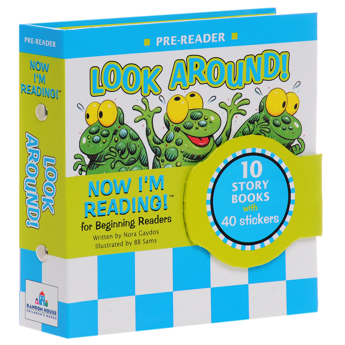 Now I'm Reading! Pre-Reader: Look Around! (+ наклейки) look and learn dig