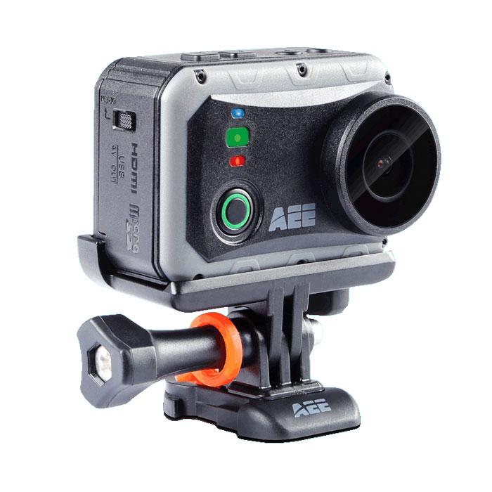 AEE S80 Magicam экшн-камераS80Экшн-камера AEE S80 Magicam с матрицей Sony Exmor R позволяет снимать в формате Full HD. Камера снимает качественное, резкое и контрастное изображение одинаково в любую погоду и в любой ситуации. При необходимости, весь отснятый видео контент можно будет просмотреть на ярком 2-х дюймовом дисплее. Наличие стерео микрофона обеспечит запись высококачественного звука.Режим фотосъёмки: 16 MпиксФормат изображений: JPEGГлубина погружения без чехла до 1 метраТемпература хранения : -20°С–60°СТемпература эксплуатации : -10°С—50°СВлажность во время эксплуатации: 15-85% относительной влажности
