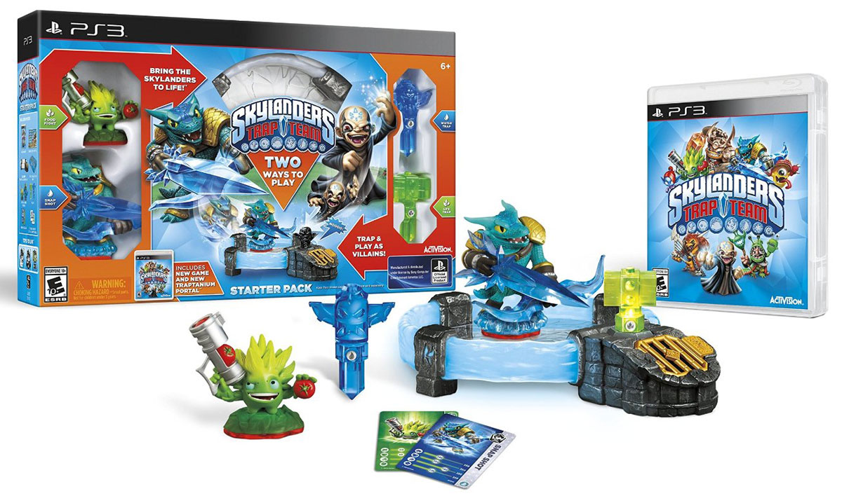 Skylanders Trap Team. Стартовый набор (английская версия) (PS3) dobe tyx 530 multifunction universal tv mount stand holder for ps4 xbox one wii u more black