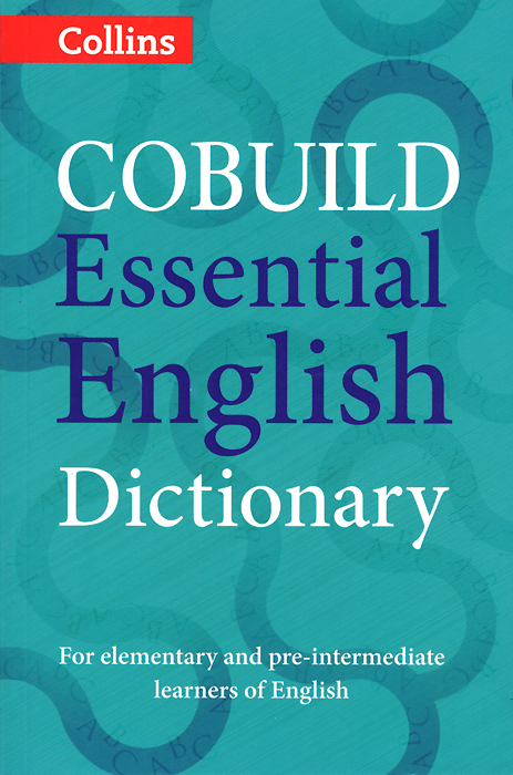 Cobuild Essential English Dictionary mastering english prepositions