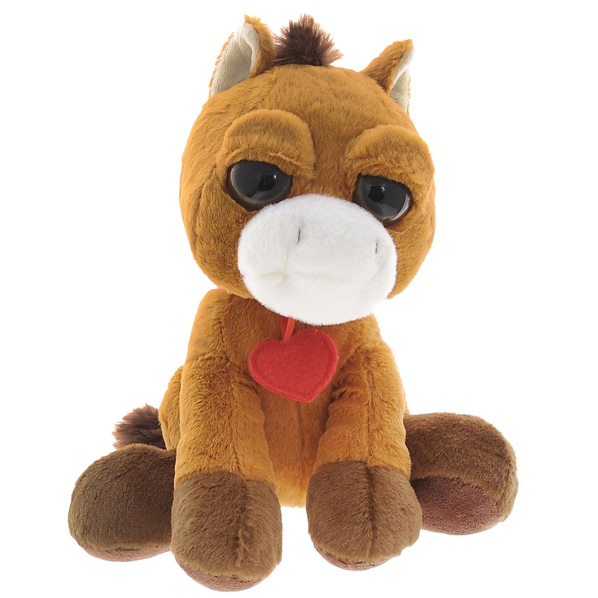 Мягкая игрушка Plush Apple Лошадка с сердечком, 23 см anna club plush мягкая игрушка бассет хаунд 18 см