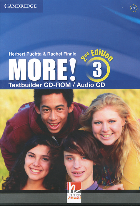 More! Level 3: Testbuilder CD-ROM / Audio CD kid s box levels 1 2 tests cd rom and audio cd