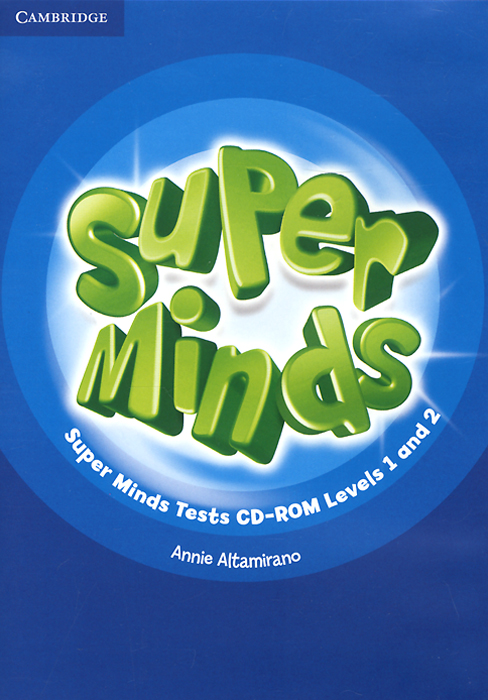 Super Minds: Level 1 and 2: Tests CD-ROM repair service level 2 included touch screen
