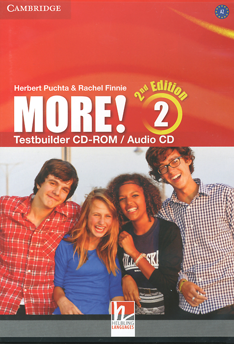 More! Level 2: Testbuilder CD-ROM / Audio CD blue fins starter level cd rom