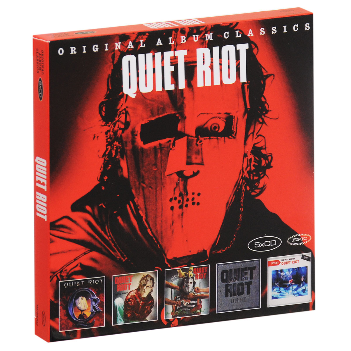 Quiet Riot Quiet Riot. Original Album Classics (5 CD) gisten high quality custom lp electric guitar transparent black burst maple top active pickup electric guitar free shipping