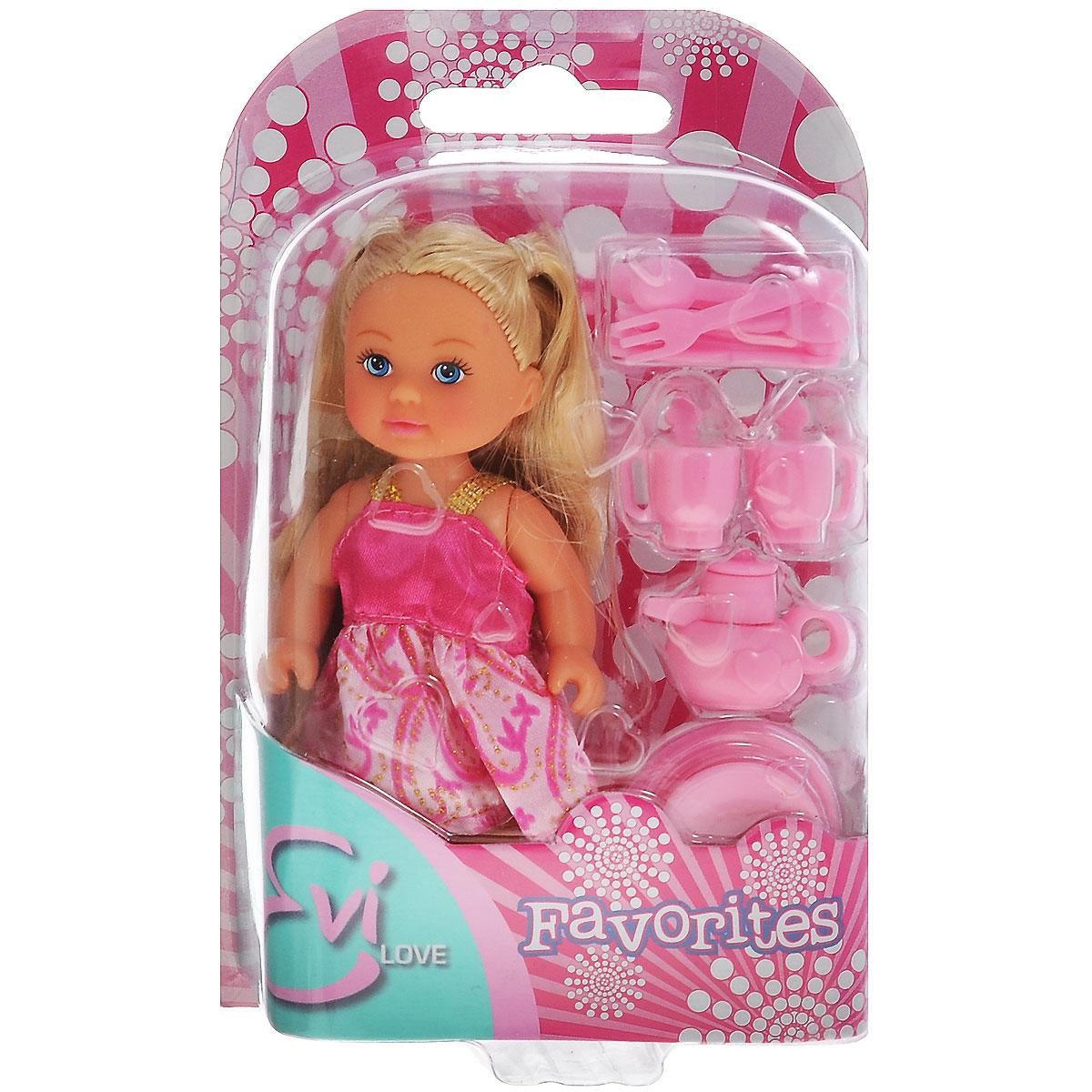 Simba Кукла Еви, с кухонными аксессуарами simba кукла evi