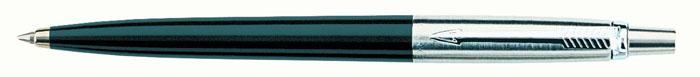 Parker Ручка шариковая Jotter Special BlackPARKER-S0705660Толщина стержня в комплекте: М (средняя).Цвет стержня в комплекте: Синий (стержни других цветов продаются отдельно).Механизм: Нажимного действия.Корпус: Литой пластиковый корпус / Легированная сталь.Отделка: Хром.Цвет: Легированная сталь / Черный.Особенности: Стержень выдвигается путем нажатия на кнопку, расположенную на торце колпачка.Размеры: 13,1 х 1,3 см.Комплектация: Ручка со стержнем, подарочная коробка, транспортировочная упаковка, руководство по эксплуатации с гарантийным талоном.Гарантия производителя: Два (2) года со дня покупки.
