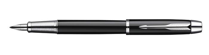 Ручка перьевая IM Black CT. PARKER-S0856180PARKER-S0856180Безупречное качество данной ручки, ее лаконичная простота и функциональность, благородство металла в цветах корпуса придутся по вкусу поклонникамтехнического прогресса. Линия письма - тонкая.
