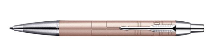 Parker Ручка шариковая IM Premium Metallic Pink синяяPARKER-S0949780Ручка шариковая IM Premium Metallic Pink. Линия письма - средняя, цвет чернил - синий.В подарочной упаковке.