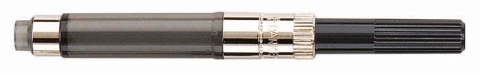 Parker Конвертер для перьевых ручек De LuxePAR-S0050300Конвертер для перьевых ручек Parker имеет заправочный механизм поворотного действия. Для использования в перьевых ручках Parker, для заправки чернилами из флакона.