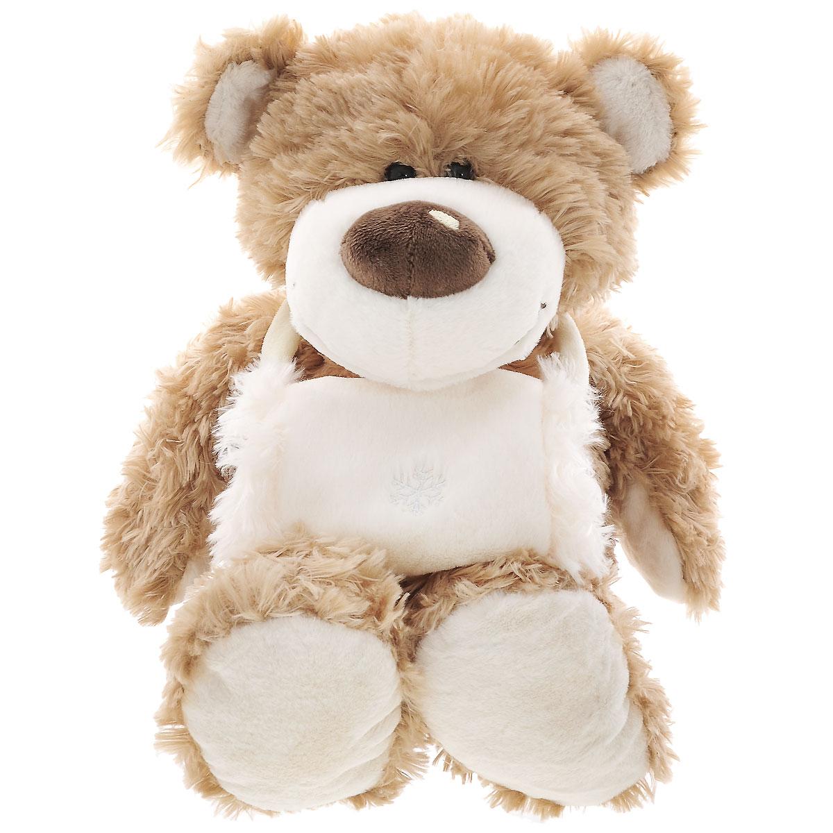 Plush Apple Мягкая игрушка Медведь с муфтой, 42 см мягкая игрушка plush apple собака с шарфом 28 см