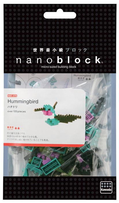 Nanoblock Мини-конструктор Колибри какие бывают наборы лего