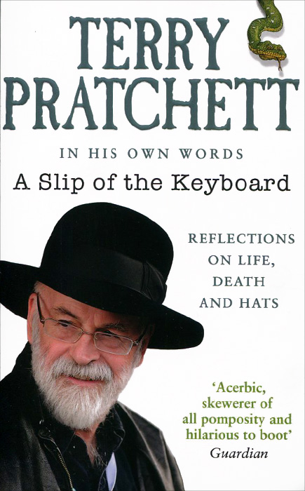 Terry Pratchett: A Slip of the Keyboard