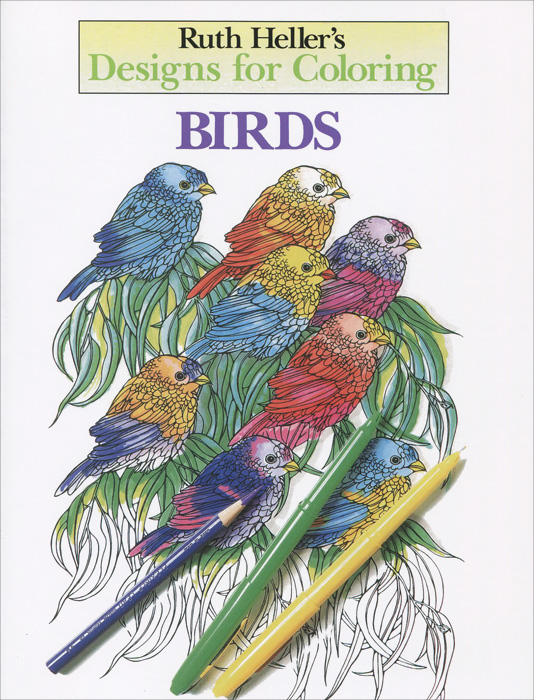 Designs for Coloring: Birds coloring of trees