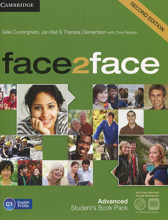 Face2Face: Advanced: Student's Book Pack (+ DVD-ROM) morris c flash on english for tourism second edition