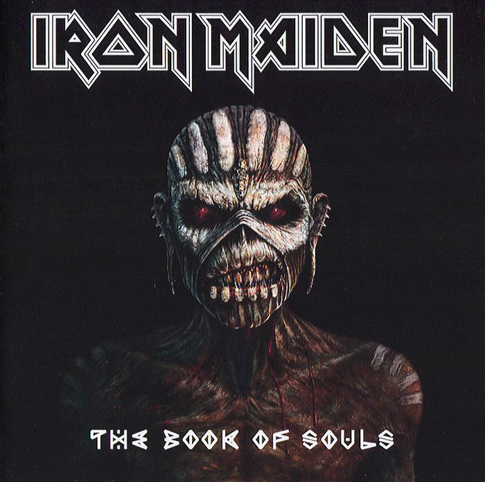 Iron Maiden Iron Maiden. The Book Of Souls (2 CD) cd iron maiden the number of the beast