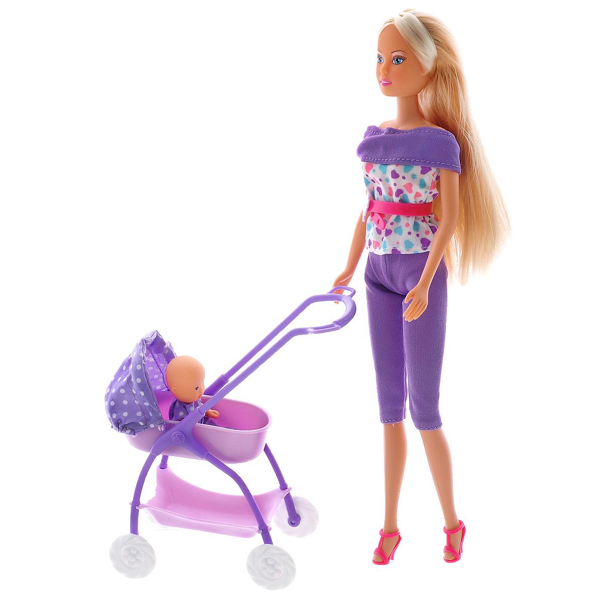 Simba Кукла Штеффи с ребенком simba с ребенком