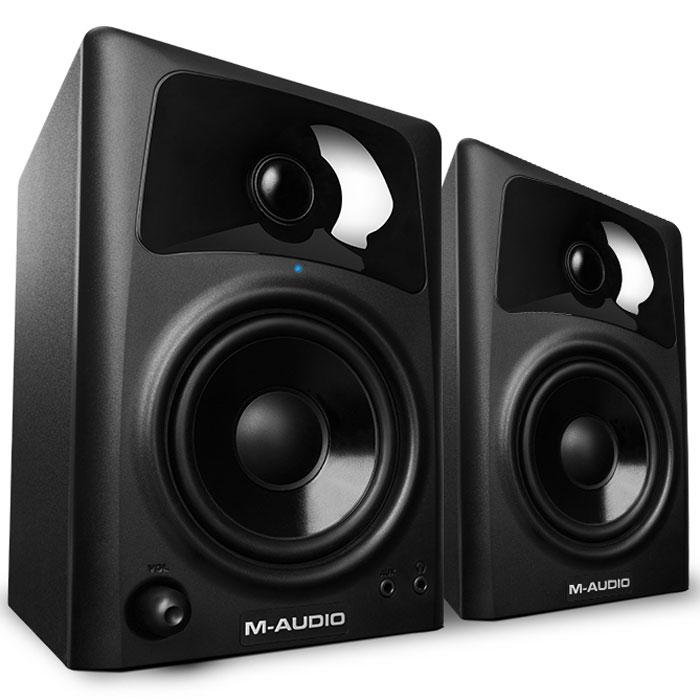 M-Audio AV42, Black мониторная акустика (2 шт.) - Студийное оборудование