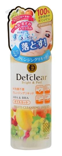 Meishoku Жидкость для снятия макияжа с AHA и BHA, 170 мл226144Жидкое очищающее средство превосходно удаляет макияж, глубоко очищает поры, оказывает мягкое отшелушивающее действие, удаляя ороговевшие клетки верхнего слоя эпидермиса, не оставляет ощущения сухости и стянутости. После использования кожа остается мягкой и гладкой. Не содержит масло и силикон, подходит для снятия макияжа с нарощенных ресниц. Хорошо удаляет плотный макияж. Не содержит искусственных красителей и спирта. Активные компоненты: АНА (альфа-гидрооксикислоты) входят в состав таких фруктовых экстрактов, как экстракты апельсина, груши, ягод черники и малины, лимона, яблока, винограда , которые известны своими очищающими, подтягивающими свойствами, сужают поры, стимулируют процессы регенерации и обновляют клетки эпидермиса. ВНА (бета-гидрооксикислоты), входящие в состав вытяжки из коры плакучей ивы, смягчают ороговевшие слои клеток эпидермиса, облегчая и ускоряя их удаление, выравнивают цвет кожи. Экстракт ферментированного сока белого винограда мягко отшелушивает ороговевшие клетки, регулирует деятельность сальных желез. Насыщает кожу витаминами, смягчает, заметно улучшает её тонус и структуру.