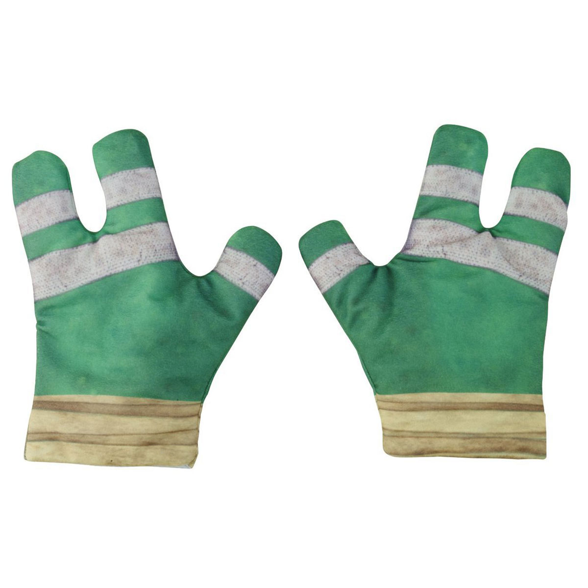 Черепашки Ниндзя Интерактивные трехпальцевые перчатки Черепашек-ниндзя Боевые перчатки ниндзя