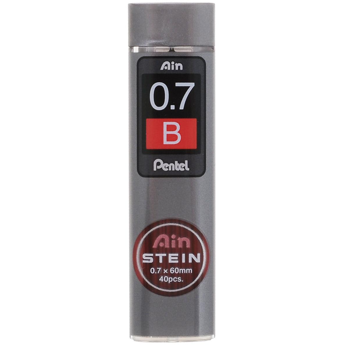 Pentel Грифели для автоматических карандашей Ain Stein B 0,7 мм 40 шт -  Карандаши