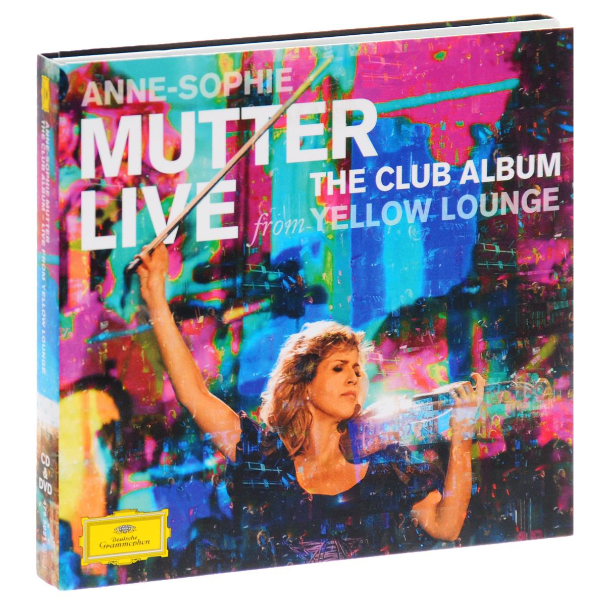 Анна-Софи Муттер,Noa Wildschut,Ламберт Оркис Anne-Sophie Mutter. Live From Yellow Lounge (CD + DVD) confident german cd