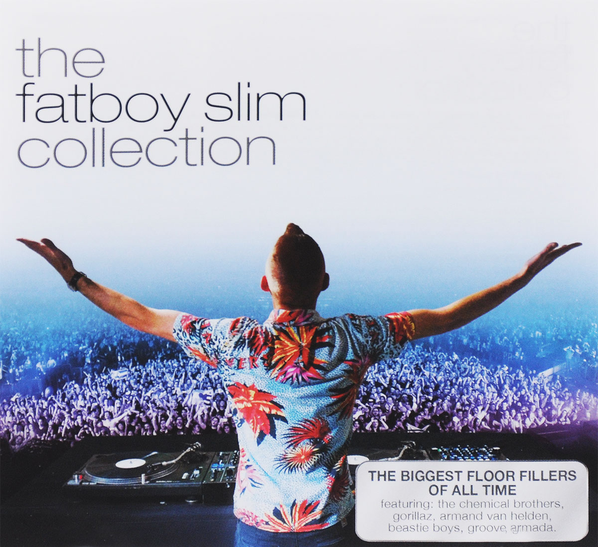 "Фото ""Fatboy Slim"",""The Chemical Brothers"",""Wildchild"",""Gorillaz"",""Groove Armada"",""X-Press 2"",Арманд Ван Хельден,""Air"",Cassius,Pizzaman The Fatboy Slim Collection"