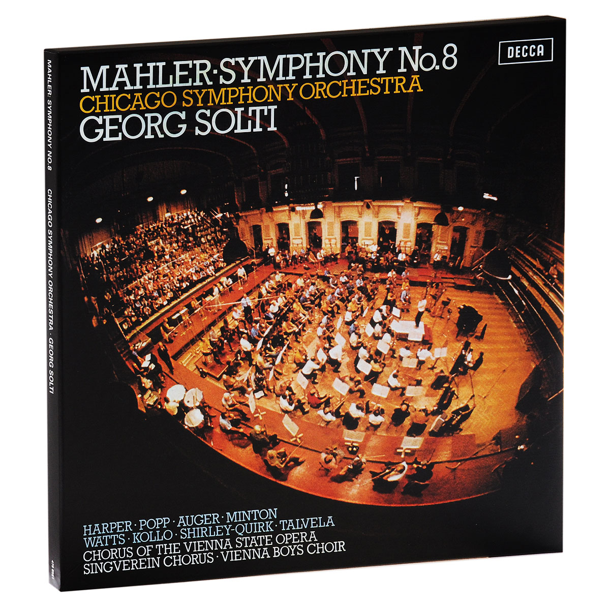 Георг Шолти,Chicago Symphony Orchestra Georg Solti. Mahler. Symphony No. 8 (2 LP) георг шолти chicago symphony orchestra chicago symphony chorus sir georg solti chicago symphony orchestra beethoven the symphonies 7 cd