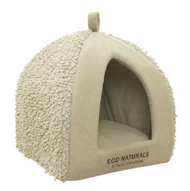 Домик для кошки Fauna Morata, цвет: бежевый, 35 х 35 х 40 смFIDB-9035Домик для кошки Fauna Morata обязательно понравится вашему питомцу. Изделие выполнено из вельвета и фактурного плюша.Ваш любимец сразу же захочет забраться внутрь, там он сможет отдохнуть и спрятаться. Компактные размеры позволят поместить домик, где угодно, а приятная цветовая гамма сделает его оригинальным дополнением к любому интерьеру.