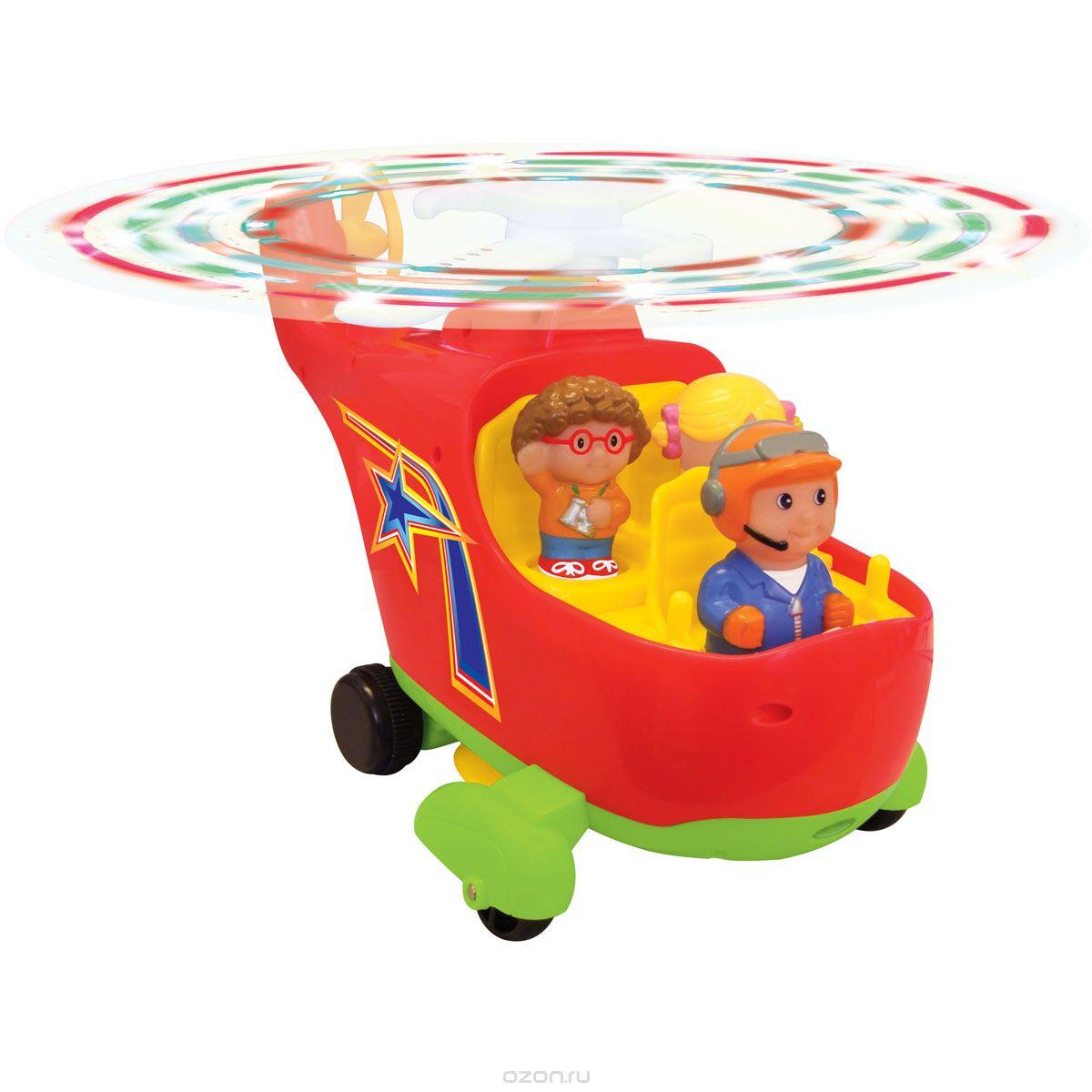 Kiddieland Развивающая игрушка Вертолет - Транспорт, машинки