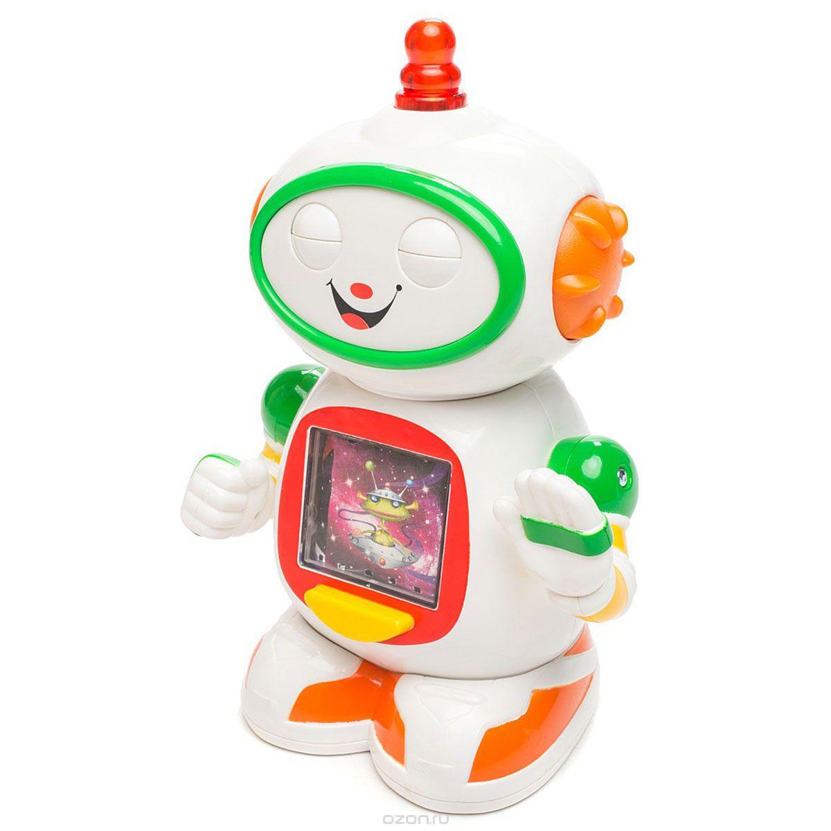 Kiddieland Развивающая игрушка Приятель робот кошка игрушка робот купить