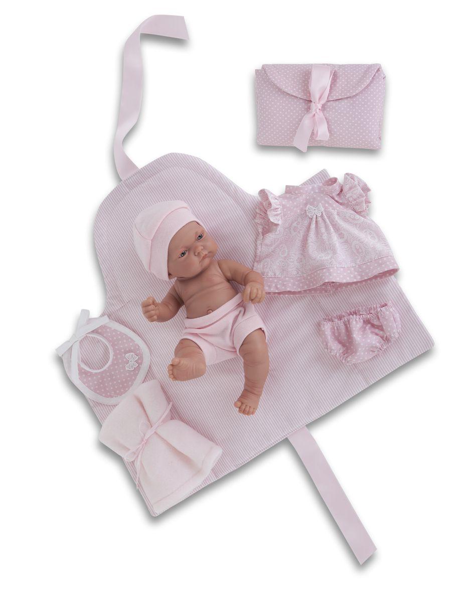 Juan Antonio Пупс Карла juan antonio кукла младенец карла в чемодане цвет одежды розовый