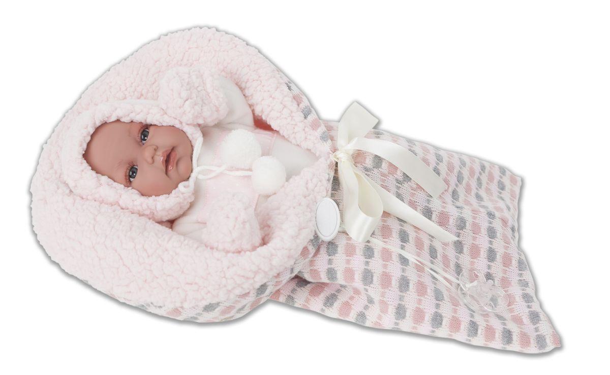 Juan Antonio Кукла-младенец Луиза juan antonio кукла младенец карла в чемодане цвет одежды розовый
