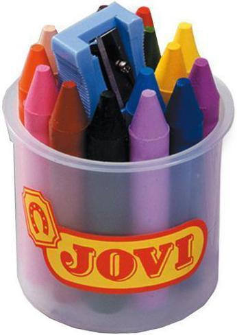 Карандаши восковые Jovi, 16 цветов, с точилкой980/16xВосковые карандаши Jovi - отличный вариант для развития наглядно-образного мышления, воображения,мелкой моторики рук, творческих и художественных способностей, а также усидчивости и аккуратности.Карандаши изготовлены на основе полимерных восков, натуральных наполнителей и высококачественныхпигментов. Они не пачкают руки малыша, они мягкие, прочные и не имеют запаха. Восковые карандаши отличаютсяяркими и насыщенными цветами, позволяют проводить мягкие и ровные штрихи. Порадуйте своего ребенка такимзамечательным подарком!