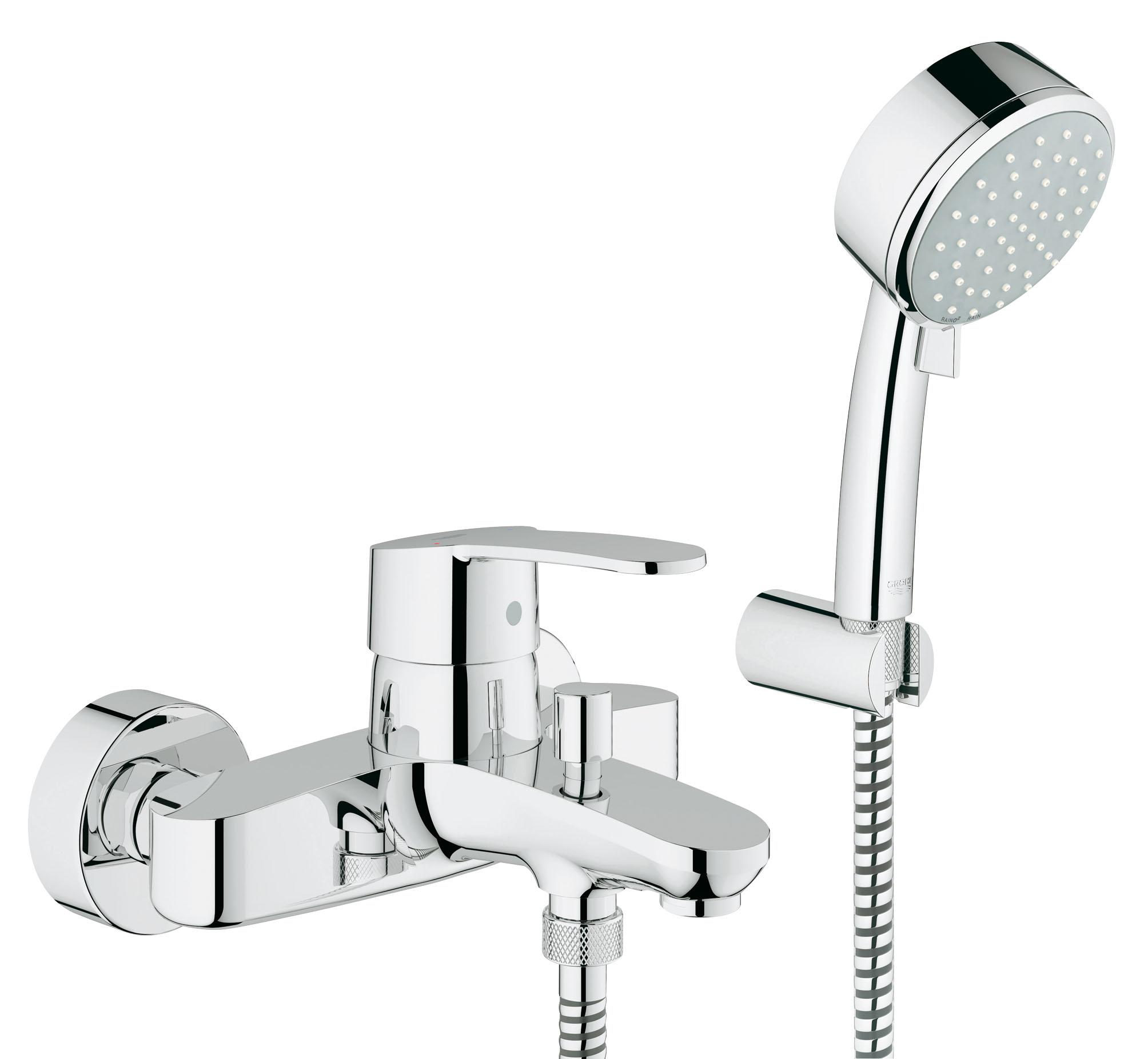Смеситель для ванны GROHE Eurostyle Cosmopolitan с ручным душем (33592002)