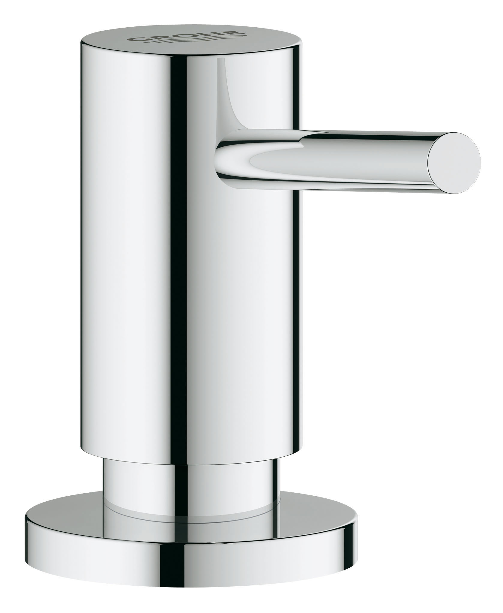 Дозатор жидкого мыла GROHE. 4053500040535000Для жидкого мыла,Запасная емкость 0,4 лGROHE StarLight хромированная поверхность