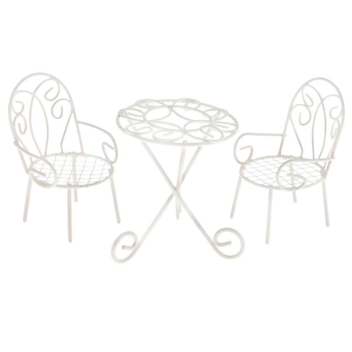 Набор фигурок для мини-сада Bloom`its Садовая мебель, 3 предмета мини тренажеры для дома купить