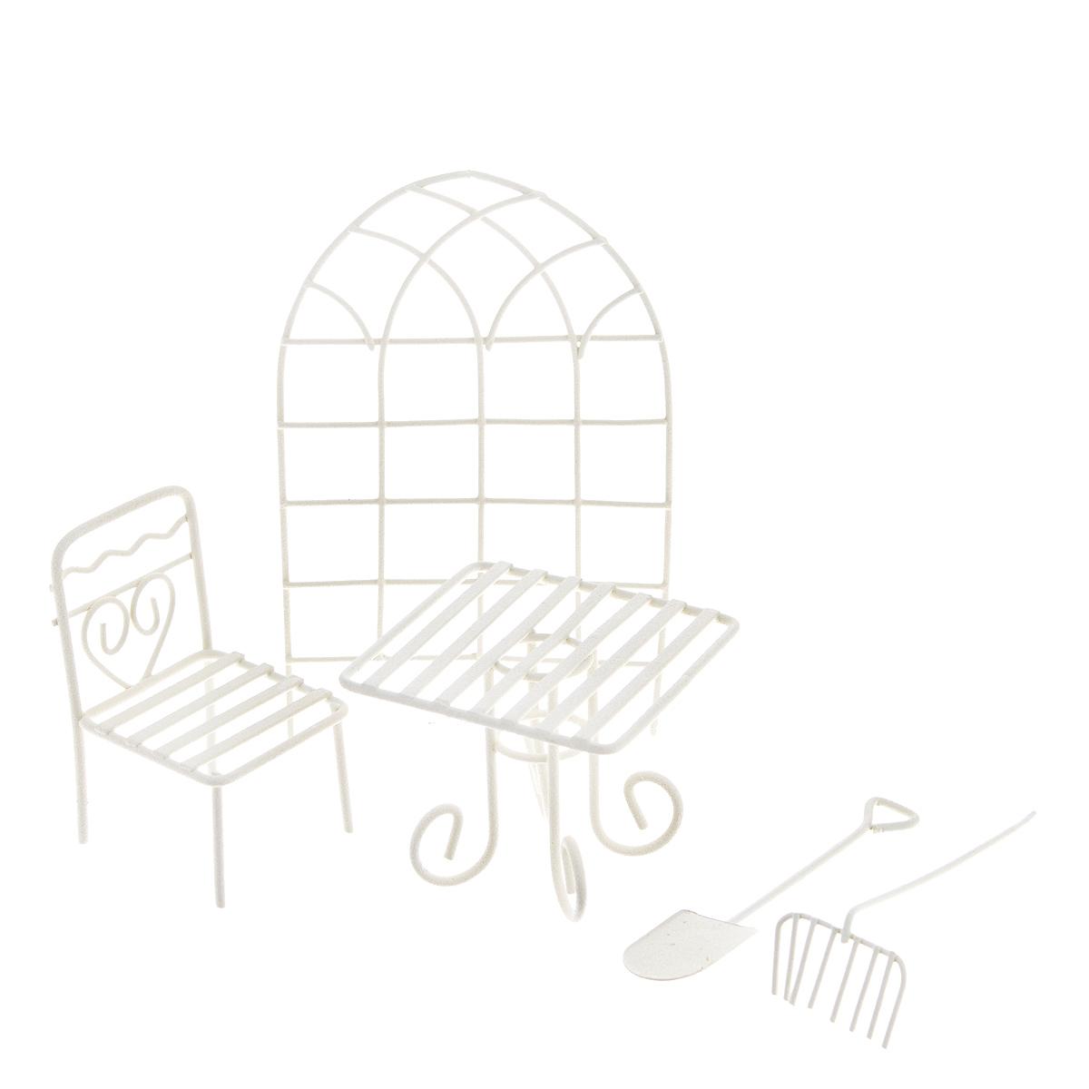 Набор фигурок для мини-сада Bloom`its, 5 предметов набор садовода купить