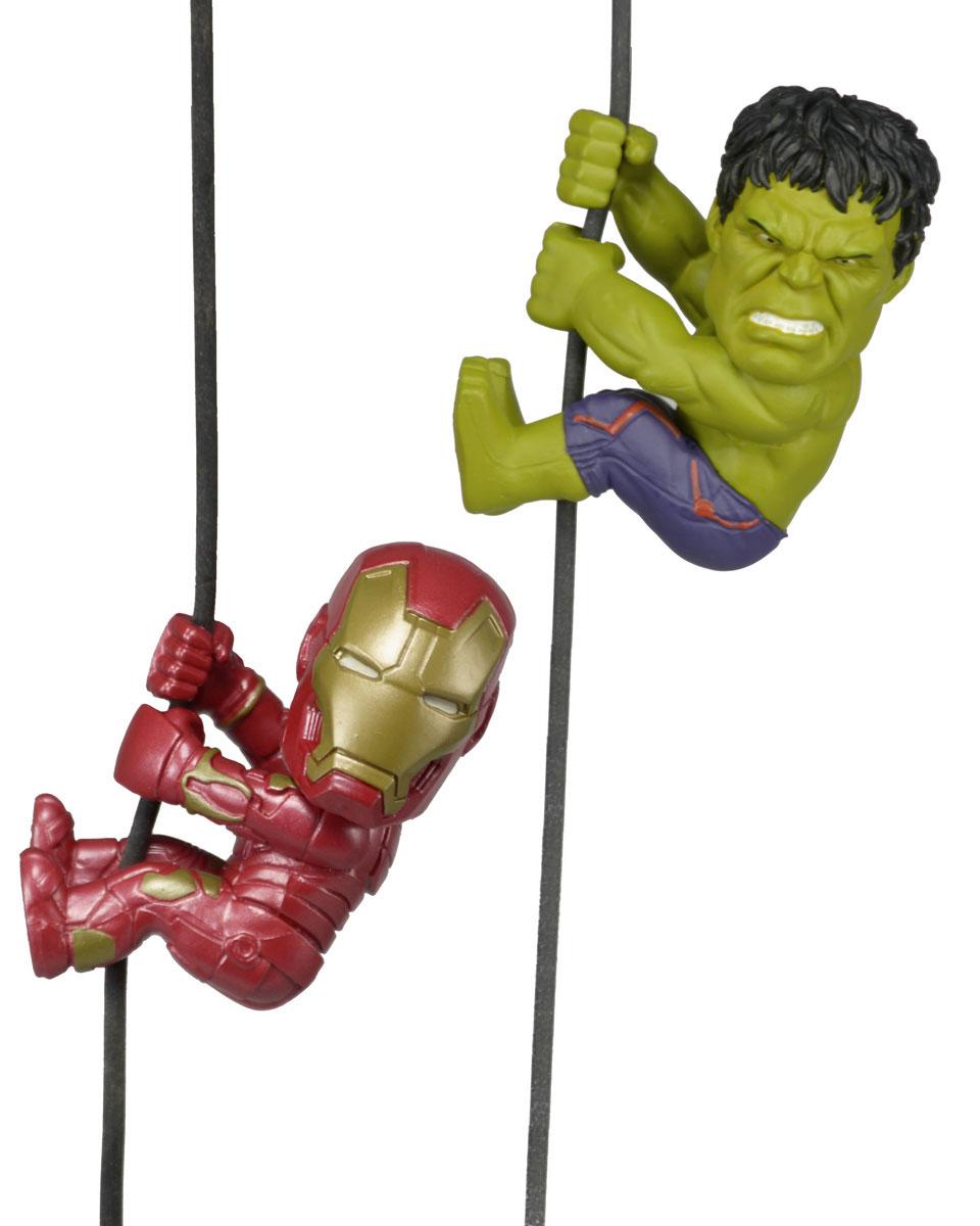 Наушники в комплекте с держателями проводов Avengers Hulk and Iron Man 5 см мстители эра альтрона фигурка халк башкотряс