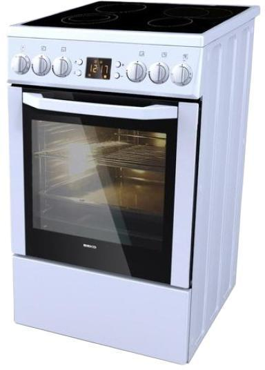 Beko CSE 57301 GW электрическая плита - Плиты