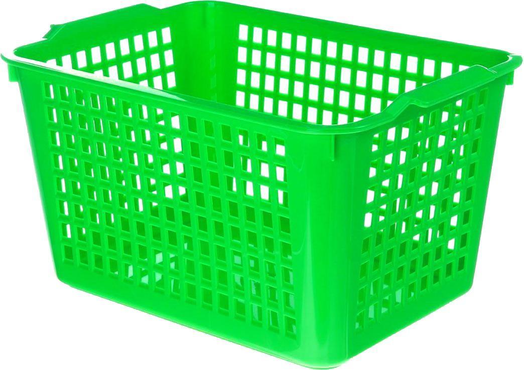 Корзинка универсальная, цвет: салатовый. 718341718341_салатовый