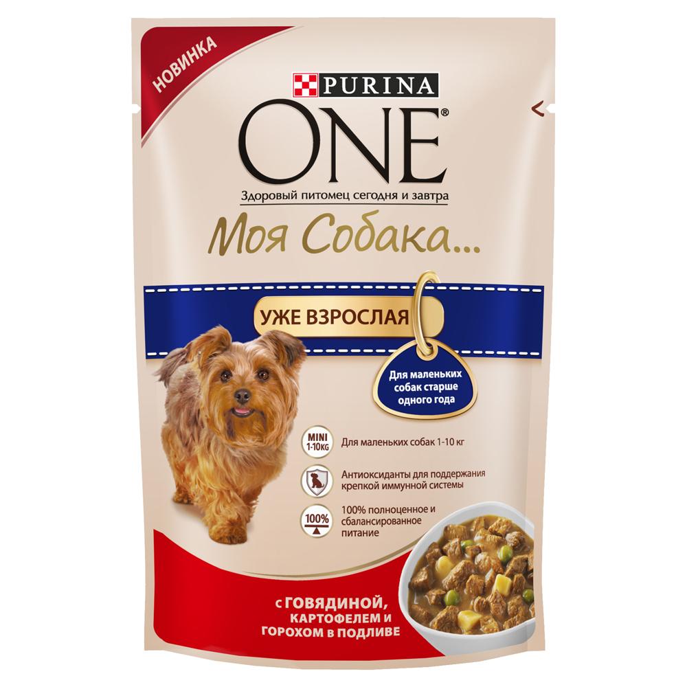 Корм консервированный Purina One Мини Моя Собака...Уже взрослая, для взрослых собак мелких пород старше одного года, с говядиной, картофелем и горохом в подливе, 100 г12263869Корм консервированный Purina One Мини Моя Собака...Уже взрослая - высококачественное питание из мягких кусочков и овощей в подливе легко усваивается и разработаноспециально для собак мелких пород старше одного года. Ваша собака сможет наслаждаться вкусным кормом каждый день.Преимущества: - содержит антиоксиданты для поддержания крепкой иммунной системы,- для маленьких собак 1-10 кг,- легкая усвояемость,- 100% полноценное и сбалансированное питание.Состав: мясо и продукты его переработки (из которых говядина 4%), овощи (4% картофеля из сухого картофеля, 4% гороха из сухого гороха), экстракт растительного белка, продукты переработки овощей, рыба и продукты ее переработки, сахара, минеральные вещества, растительные и животные жиры, витамины, красители.Добавленные вещества, МЕ/кг: витамин А: 1036; витамин D3:144; витамин E:157мг/кг: железо: 9,8; йод: 0,37; медь: 0,94; марганец: 1,73; цинк: 26,79; селен: 0,022.Гарантированные показатели: белок 11,3%, жир 3,5%, сырая зола 1,9%, сырая клетчатка 1,6%, влажность 78,7%.Товар сертифицирован.