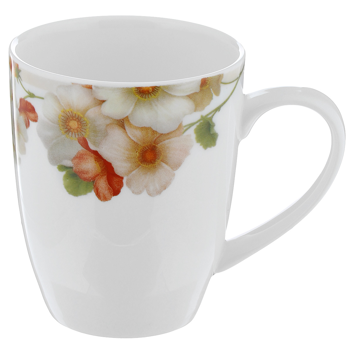Кружка Nanshan Porcelain Мальва, цвет: белый, бежевый, 300 млGNNSML001360Кружка Nanshan Porcelain Мальва изготовлена из высококачественного фарфора.При изготовлении посуды фирмы Nanshan Porcelain применяются подглазурные деколи, что защищает рисунок от истирания и продлевает срок эксплуатации посуды.Посуда безопасна для здоровья и окружающей среды, не содержит свинец и кадмий.Можно использовать в микроволновой печи и мыть в посудомоечноймашине.Объем: 300 мл. Диаметр (по верхнему краю): 8 см. Высота кружки: 10 см.