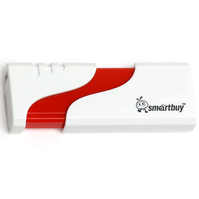 SmartBuy Hatch 8GB, White USB-накопитель