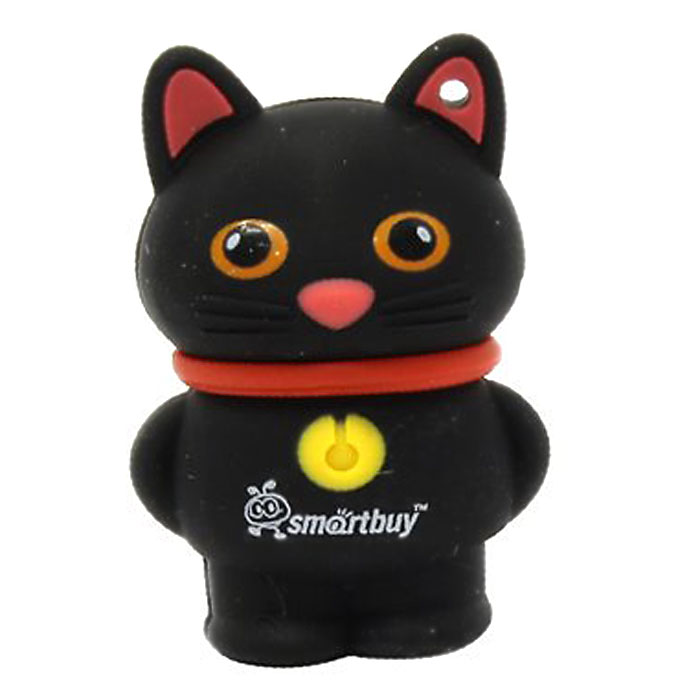 SmartBuy Wild Series Catty 8GB, Black USB-накопитель